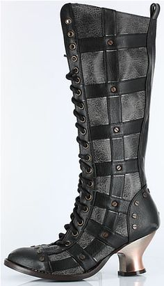 Steampunk boot