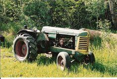 Grandpa's Oliver tractor.