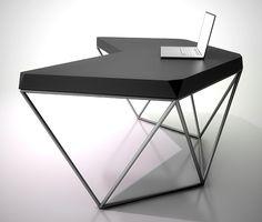Рабочий стол Гексагон металл / Гексагон металл oak / Гексагон металл oldwood | Voca Design интернет-магазин и дизайн-бюро современного дизайна