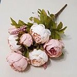 1 Branch Silk Peonies Tabletop Flower Artificial Flowers 50 x 30 x 30(19.69'' x 11.81'' x 11.81'') 2017 - $10.99