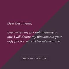 Book Of Teenager – A home of teenagers - Read relatable and interesting articles on our website. Friend Love Quotes, Besties Quotes, Happy Quotes, Happiness Quotes, Positive Quotes, Short Friendship Quotes, Quotes About Friendship Ending, True Feelings Quotes, Fact Quotes