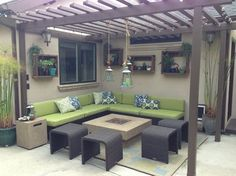 Blair Lounge - contemporary - patio - los angeles - Inspired Interiors by Tamra
