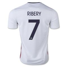 2015 Franck Ribéry Away Soccer Jersey  Adult Size Small Medium Large Extra Large  Youth Size Youth Extra Small (5 to 6 Year Old.) Youth Small (7 to 8 Year Old.) Youth Medium (9 to 10 Year Old.) Youth Large (11 to 12 Year Old.)