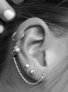 cartilage piercing.