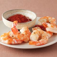 Roasted Shrimp Cocktail recipe from Ina Garten via Food Network. Roasting shrimp instead of boiling. The cocktail sauce recipe sounds really yummy and easy too. Shrimp Recipes, Fish Recipes, Appetizer Recipes, Best Shrimp Cocktail Recipe, Seafood Appetizers, Ina Garten Roasted Shrimp, Food Network Recipes, Cooking Recipes, Cooking Rice