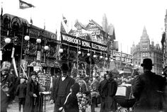 View all the latest pictures in the gallery, Remarkable photos of Victorian Nottingham show how the city has changed, on Nottingham Post. Nottingham Goose Fair, Victorian Life, Fun Fair, Latest Pics, Family History, Times Square, The Past, Old Things, Street View