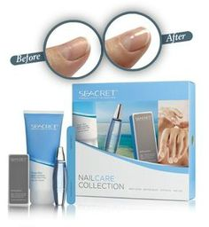 Natural nail care collection. Smooth and shiny nails naturally.
