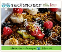 Mediterranean Healthy Kitchen by Cathy Caparis & Ilias Mpousias