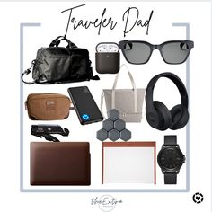Travel essentials for dad! Check out these Fathers Day Gifts for the traveler in your life! #competition Follow me in the @LIKEtoKNOW.it shopping app to shop this post and get my exclusive app-only content! #liketkit #LTKmens #LTKtravel #LTKSeasonal @liketoknow.it Travel Essentials, Fathers Day Gifts, Gift Guide, Competition, Dads, Content, Check, Life, Shopping