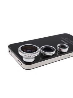 3-in-1 Smartphone Camera Lens Kit