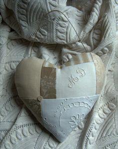 coeur en tissu recup                                                                                                                                                     Plus