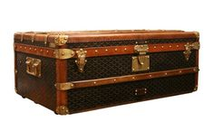 Vintage Goyard Trunk. What a dream piece to own one day!