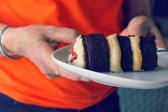 sweet miscellany: Cardamom Chocolate Cake With Rose Cashew Cream & Rose Sugar #vegan #glutenfree