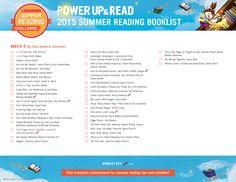 2015 Summer Reading Challenge Booklist - Ages 0-2. #summerreading