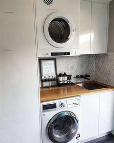 Laundry Shelves, Laundry Closet, Small Laundry Rooms, Laundry Room Organization, Small Shelves, Laundry In Bathroom, Small Storage, Diy Storage, Storage Ideas