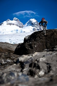 That's how you do it: mountainbike