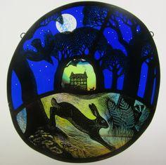 stained glass artist, Tamsin Abbott, tamsinabbott.co.uk