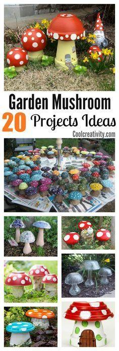 20 Garden Creative Mushroom Projects