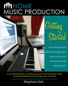 Home Music Production: Getting Started - a complete guide to setting up your home studio to make professional sounding music at home. Home Recording Studio Setup, Recording Studio Equipment, Home Studio Setup, Studio Gear, Home Music, Home Studio Music, Arduino, Microsoft, Computer Music