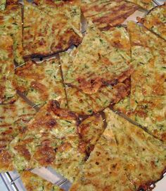 Jo and Sue: Zucchini Cheese Wedges