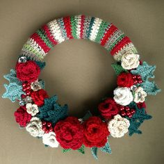 Ravelry: Project Gallery for Springtime Wreath pattern by Lucy of Attic24