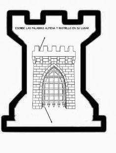 El pupitre: Ficha de una puerta de un castillo