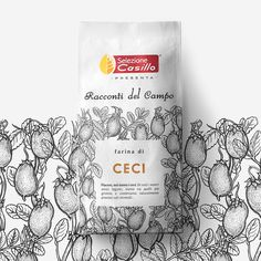 Neom - Racconti del Campo Flour - World Brand Design Rice Packaging, Organic Packaging, Cool Packaging, Coffee Packaging, Brand Packaging, Packaging Design, Branding Design, Product Packaging, Organic Recipes