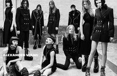 Alexander Wang Fall/Winter 2015/2016 | The Fashionography