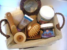sample spa gift basket
