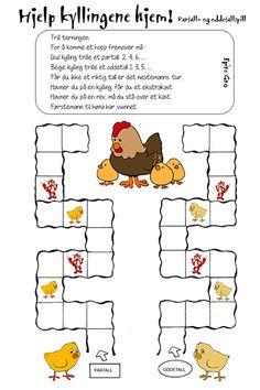 Kylling_Partall og oddetallspill_liten