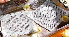 crochet em revista: Bases para copos