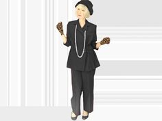 Plus Size Vintage Black Pantsuit Pinstripe Pants Suit True 70s / 80s, Wrap Pin Stripe Blazer, Minimalist Tailored Look, Wide Leg Trousers by LunaJunctionVintage on Etsy Black Pant Suit, Pinstripe Pants, Striped Blazer, Black Pants, 70s Fashion, Vintage Fashion, Wrap Around Dress, Plus Size Vintage, Wide Leg Trousers