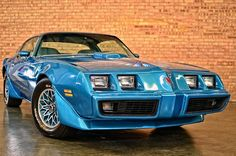 1979 Pontiac Trans Am: A True Blue Monster Click to Find out more - http://fastmusclecar.com/best-muscle-cars/1979-pontiac-trans-am-a-true-blue-monster/ COMMENT.