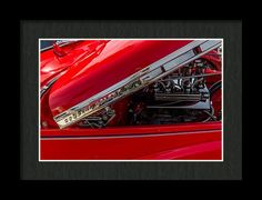 Chevrolet Special Deluxe Framed Print featuring the photograph Sneak Peak by Marnie Patchett