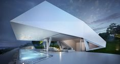 The Villa F - Rhodes, Greece. Designed by Peter Thomas Hornung, Elsa Katharina Jacobi and Jan Escher.