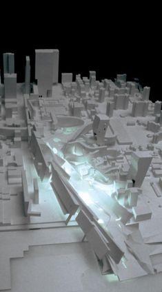 IFCCA New City Park - Model | Morphopedia | Morphosis Architects