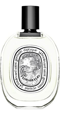 Diptyque Florabellio alty sea mist hangs in the air. The middle bursts with soft and sensual apple blossom and lingering in the background, barely perceptible, is the comfortingly familiar smell of roasted coffee.