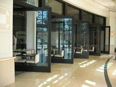 Rotating doors, marina resto by The Pageman, via Flickr