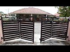 folding gate opener: Run - YouTube