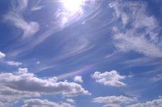 Fotografia. Nubes. Cirros. Cumulus