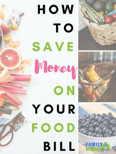 Check out these easy to do ways to save money on groceries. | How to save money on groceries | Ways to save on food |