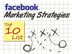 Facebook Marketing Strategies – Top 10 List by Lawrence Tam via slideshare