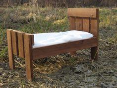 Sale Cedar Newborn Photo Prop Bed by shastadolphin on Etsy, $55.00