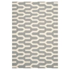 Delphine Dhurry Rug - Silver/Ivory - (4'x6') - Safavieh
