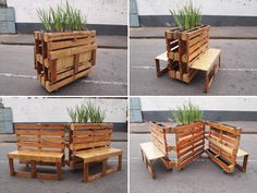Brothers in Benches South African street artist r1, was asked to take part in a residence program in down-town Johannesburg (Maboneng) to come up with innovative ideas and solutions that positively contribute to the community in an artistic way. Together with Sam, a local informal upholstery coach maker he developed these interchangeable movable benches that are made out of reclaimed wooden pallets and are intended for the public to engage with. Head over to his website ...