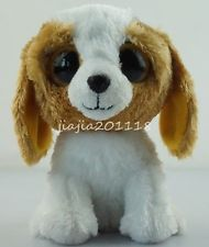 "6"" Dog TY Beanie Boos Plush Stuffed Toys Soft Animals Nice Gifts Dolls #sd847ehb"
