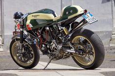 """Racing Cafè: Ducati """"La Permalosa"""" by Unique Cycle Work"""