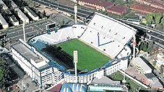 Estadio Jose Amalfitani. Buenos Aires. Soccer Stadium, Football Stadiums, Messi, South America, Futuristic, Around The Worlds, Mansions, Art Pop, Women's Fashion