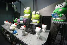 Kerokerokeroppi!!! @ 'Kitty Robot' at Sanrio Puroland in Tokyo ^^