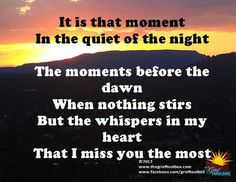 The moment before the dawn | The Grief Toolbox